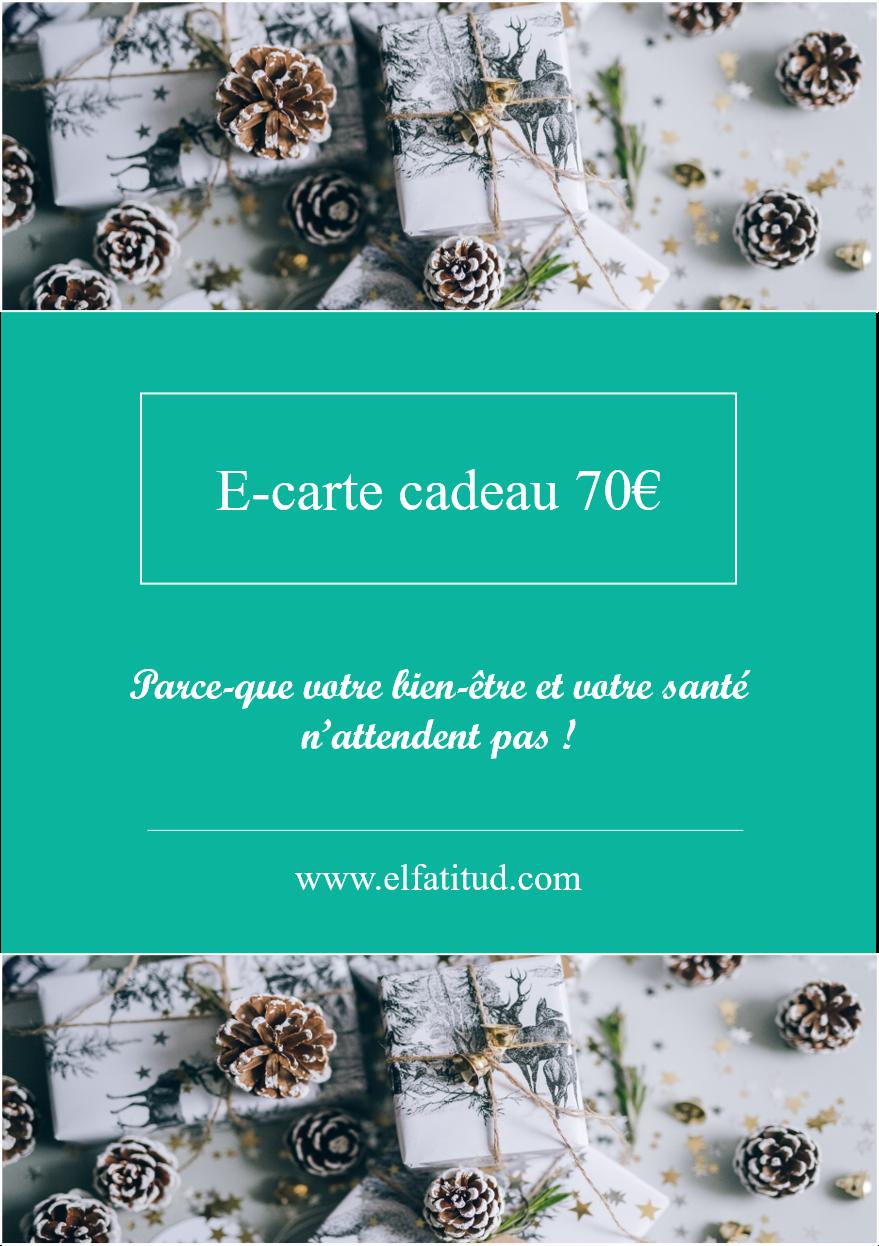 Carte cadeau ELFATITUD